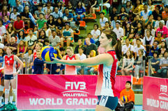 Volleyball World Grand Prix 2014 Stock Image
