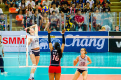 Volleyball World Grand Prix 2014 Stock Photos