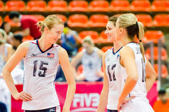 Volleyball World Grand Prix 2014 Royalty Free Stock Image