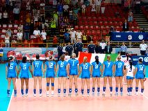 Volleyball World Grand Prix: Italy Royalty Free Stock Image