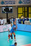 Volleyball World League: Italy vs Cuba stock photography