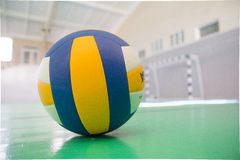 Volleyball. Before you start an exciting game stock photos