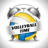 Volleyball-Zeit Lizenzfreie Stockfotos