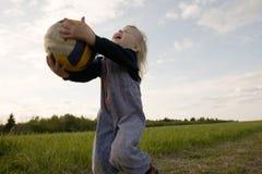 volleyballerbarn Fotografering för Bildbyråer