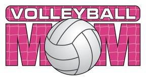 Volleyballmamma vector illustratie