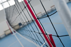 Volleyballnetz Stockfotografie
