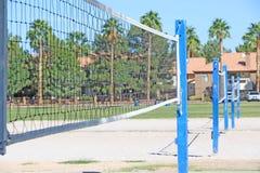 Volleyballnetze Lizenzfreies Stockbild