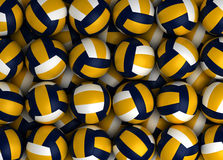 Volleyballs Royalty Free Stock Photography