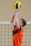 Volleyballspiel Lizenzfreie Stockfotografie