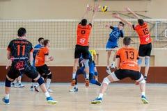 Volleyballspiel Stockbilder