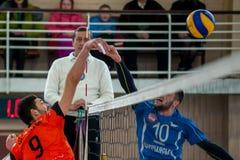 Volleyballspiel Lizenzfreies Stockbild