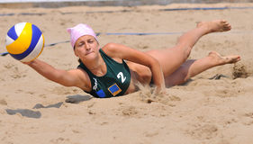 Volleyballspieler Stockfoto