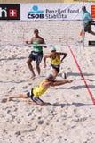 volleyboll för stjärna för alison strandcerutti arkivbild