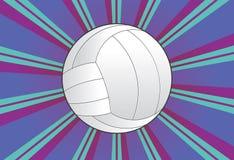 Volleybollbollbakgrund Royaltyfria Bilder
