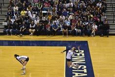 volleybollkvinnor Royaltyfri Bild