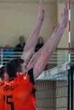 Volleybolllek fotografering för bildbyråer