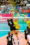 Volleybollvärldsgrand prix 2014 Royaltyfria Foton