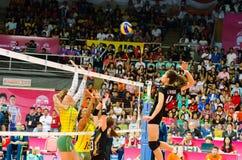 Volleybollvärldsgrand prix 2014 Royaltyfri Fotografi