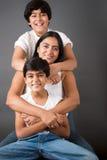 Vollkommene Familie Lizenzfreie Stockfotos