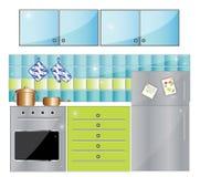 Vollkommene Küche Stockbilder