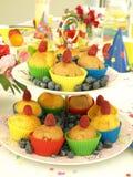 Vollkommene Muffins Lizenzfreies Stockfoto