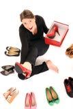 Vollkommene Schuhe? Stockfotografie