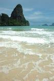 So vollkommene Strand-Ferien! Stockfoto