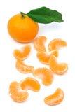 Vollkommene Tangerinefrucht lizenzfreies stockfoto