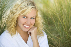 Vollkommene weibliche Schönheit Lizenzfreies Stockfoto