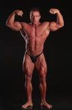 Vollkommener Bodybuilder Stockbild