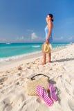 Vollkommener Feiertag in dem karibischen Meer Stockbild