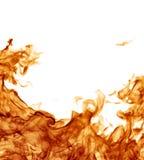 Vollkommener Feuerhintergrund Stockbild
