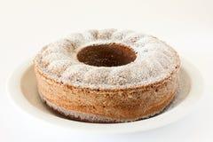Vollkommener Schwammkuchen stockfotografie