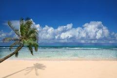 Vollkommener Strand in Hawaii Lizenzfreies Stockbild