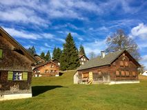 Vollkommenes Dorf Lizenzfreies Stockfoto