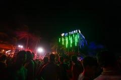 Vollmond-Partei Koh Phangan Stockfotos