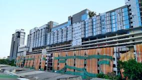 Vollständige Auswahl des im Bau Gebäudes Lizenzfreies Stockfoto