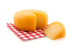 Vollständiger Käse Lizenzfreies Stockfoto