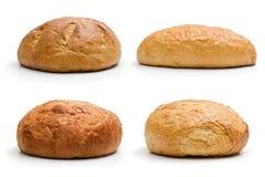 Vollständiges Brot vier stockbilder