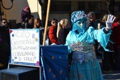 volo ομάδας geometrico καρναβαλιού Στοκ Εικόνες