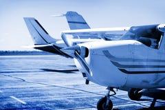Volo charter Fotografia Stock