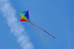 Volo del cervo volante Immagine Stock Libera da Diritti
