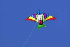 Volo del cervo volante Immagini Stock