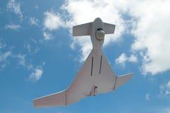 Volo del UAV fotografia stock libera da diritti