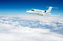 Volo dell'aeroplano Fotografie Stock