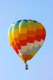 Volo dell'aerostato di aria calda Immagini Stock