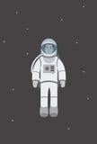 Volo dell'astronauta nello spazio Fotografie Stock Libere da Diritti