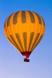 Volo della mongolfiera Fotografia Stock