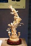 Volo della scultura dell'osso Fotografie Stock Libere da Diritti