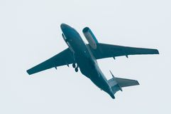 Volo AN-74 della società di Utair Fotografia Stock Libera da Diritti